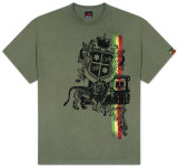Rasta - Lion and Shield T-Shirt
