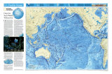 Pacific Ocean Floor Map Photo