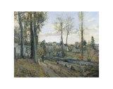 Louveciennes, c.1871 Prints by Camille Pissarro