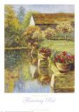 Flowering Pool Print by Michael Longo
