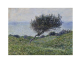 Sea Coast at Trouville Poster by Claude Monet