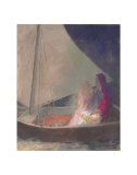 The Barque, c.1902 Posters by Odilon Redon