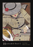 Houndstooth and Tweed II Prints by Karen Dupré