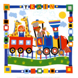 Train Prints by Cheryl Piperberg