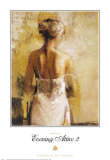 Evening Attire II Print by Norm Daniels