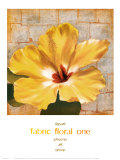 Fabric Floral I Prints by  Dysart