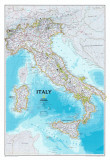 Map of Italy Art Print