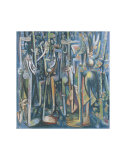The Jungle, 1943 Pósters por Wilfredo Lam