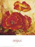 Hollyhocks Posters by Mariapia & Marinella Angelini