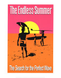 The Endless Summer Kunstdrucke von John Van Hamersveld