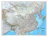 Mapa de China Lámina