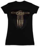 Juniors: Johnny Cash - Wings - Vintage T-shirts