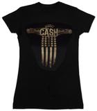 Juniors: Johnny Cash - Wings - Vintage T-shirts