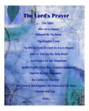 The Lord's Prayer Photographic Print by Ruth Palmer 2