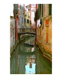 Little Boat on Canal in Venice Photographic Print by Michael Henderson