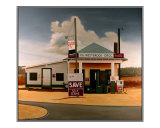 Sampson County Crossroad Giclee Print by Doug Strickland