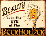 Beerholder Tin Sign