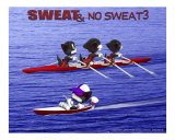 Sweat & No Sweat 3 Photographic Print by Fred May