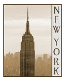 Empire State Building, New York Photographic Print by DW labs