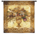 Tuscan Urn Wall Tapestry by Elizabeth Jardine