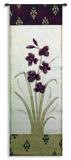 Kimono Orchid Crimson II Wall Tapestry by  Regina-Andrew Design