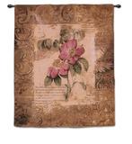 Blossoming Elegance III Wall Tapestry by Dougall