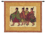 Squaws Wall Tapestry by Lydia Dillon-Sutton