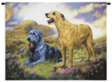 Irish Wolfhound Wall Tapestry by Robert May
