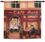 Cafe Rosa Wall Tapestry by Will Rafuse