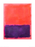 Untitled, c.1961 Poster di Mark Rothko