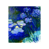 Gelbe Seerosen Und Agapanthes Prints by Claude Monet