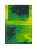 Surface I Serigraph by Clement Garnier
