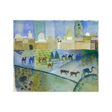 Kairouan I, c.1914 Prints by Auguste Macke