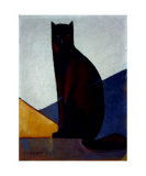 Le Chat Noir, c.1921 Posters av Marcel-Louis Baugniet