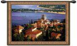 Cote d'Azur Wall Tapestry by Max Hayslette