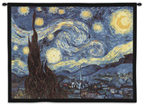 Starry Night, c.1889 Wall Tapestry by Vincent van Gogh