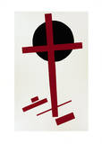 Suprematismus, c.1927 Serigraph by Kasimir Malevich