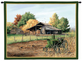 End of Harvest Wall Tapestry by Judy Richardson