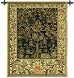 Árbol de la vida Tapiz por William Morris