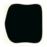 Black Ripe, c.1955 Serigrafía por Ellsworth Kelly