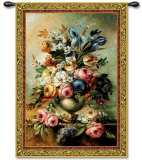 Mothers Bouquet Wall Tapestry by Riccardo Bianchi