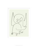 Scellen-Engel, c.1939 Serigrafi af Paul Klee