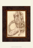 Jennifer Goldberger - Sepia Boots I - Art Print