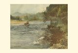 Salmon Fishing Prints by Ernest Briggs