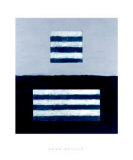 Landeline Blue, c.1999 Giclée-Premiumdruck von Sean Scully