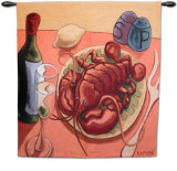 Lobster Fest Wall Tapestry by Will Rafuse