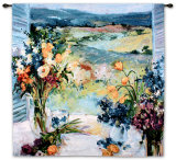 Tuscany Floral Wall Tapestry