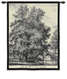 Black Poplar Wall Tapestry by Jacob George Strutt