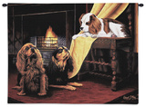 King Cavalier Spaniel Wall Tapestry by Robert May