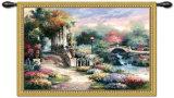 Refugio de jardín clásico Tapiz por James Lee